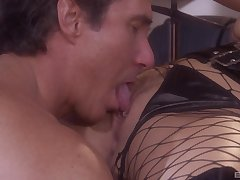 Jordan Kingsley is ready for hard and wild sex approximately her boyfriend in the scullery