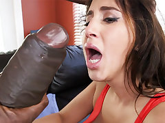 Latina Messiah get an orgasm from monster gumshoe