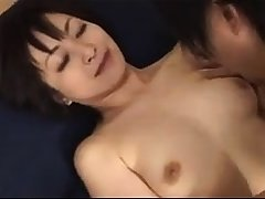 Cute japanese milf Yuki Mochida gives astonishing blowjob