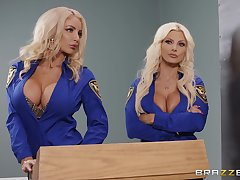 Brittany Andrews and one more amazing comme ci share friend's pecker