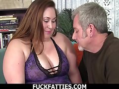 Titbit BBW With Cyclopean Tits Takes On A Big